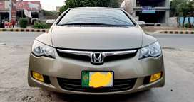 Honda civic reborn full option GOLD GYPT