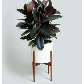 Pot Standing Teraso Tipe Tabung D30cm