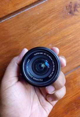 Dijual lensa fuji 15-45 mm