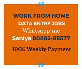 Part time jobs for Students, Housewifes. Earn daily Rs.1000/-.