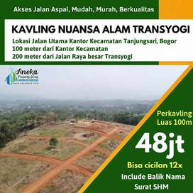Tanah Dijual Lokasi Sangat Strategis dekat Kantor Kecamatan