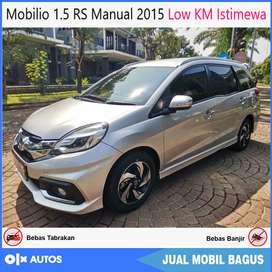 [Dp23jt] Mobilio 1.5 RS Manual 2015 Low KM Istimewa Bisa Kredit