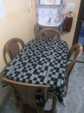 Dining table plastic