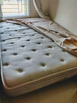 steel almirah and US imported spring Air company mattress