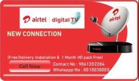 get new dth connection only on 999 Rs