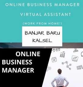 DICARI ONLINE BUSINESS MANAGER AREA BANJAR BARU KAL SEL