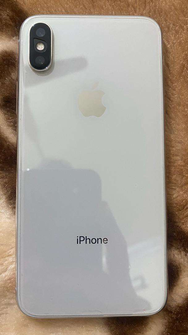 Iphone X 256GB white color PTA approved 0