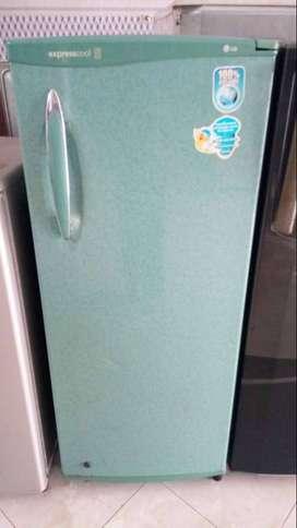 jual freezer berdiri 6rak LG normal beku jos mantap