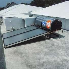 pemanas air,mandi,wika,surya,solahart,solar water heater,aristonSanken