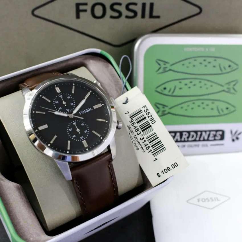 Jam Tangan Cowok Fossil Townsman FS5280 Original 0