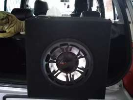audioex 10  inch subwoofer for car and assembled amp