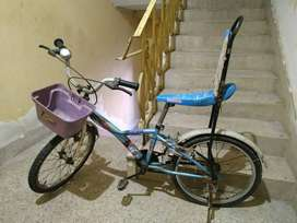This bicycle is of Hero company. This bicycle have been used for only.