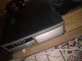 Hp  7700 model 1,GB 250 gb  only PC and keyboard mouse not a lcd