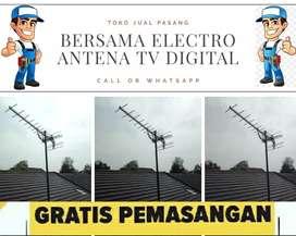 Jasa layanan pasang signal antena tv lokal