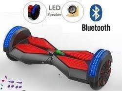 E scooter or self balancing scooter with remote key and bluetooth