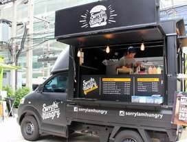 FOOD TRUCK, FOOD PICKUP, BOOTH BISNIS, CONTAINER BOOTH, BOOTH BERJALAN