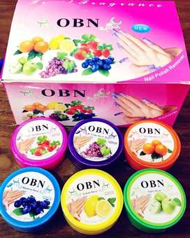 OBN Nail Polish Remover Wipes Pack Of 6
