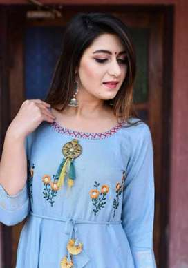 Kurti Plazo various types in little amount...hury up and grab just now