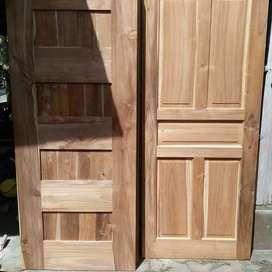 Kusen pintu jendela kayu jati