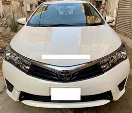 Toyota Corolla 2017 GLi  10 % Markup  On easy  installment