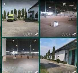 Gudang ex pabrik tekstil lokasi masaran sragen zona merah industri
