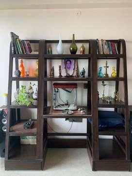 Multi purpose Book Shelf/Decor Unit