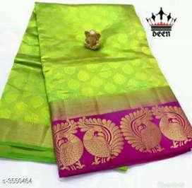 Peacock border silk sarees