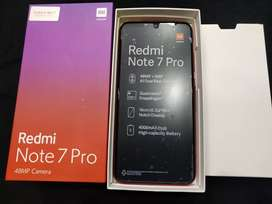 Sealed one Redmi Note 7 pro 6gb+128gb 48mp camera