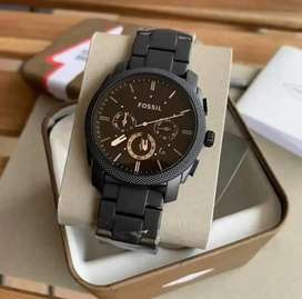 Premium fossil chain watch CASH ON DELIVERY price negotiable