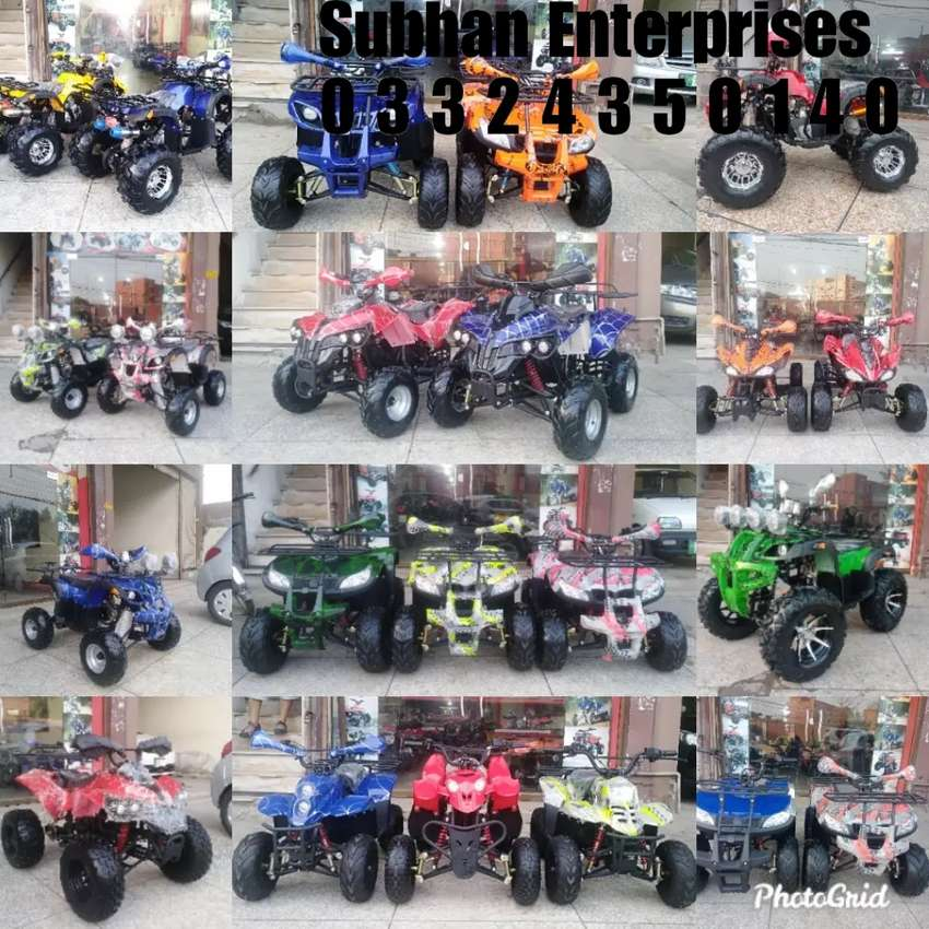 "Fresh Arrivals Atv Quad 4 Wheels Bike Available At""SUBHAN ENTERPRISES"" 0"