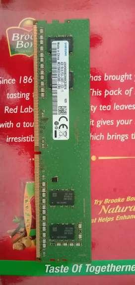 4GB DDR4 RAM per piece 2200/-