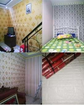 Jual wallpaper dinding ruang
