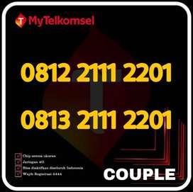Kartu perdana nomor cantik TELKOMSEL simpati couple
