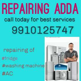All kinds fridges, washing machine, Ac repair service available