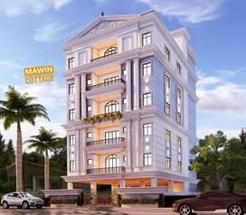 4bhk luxury flat for sale at salarjung colony
