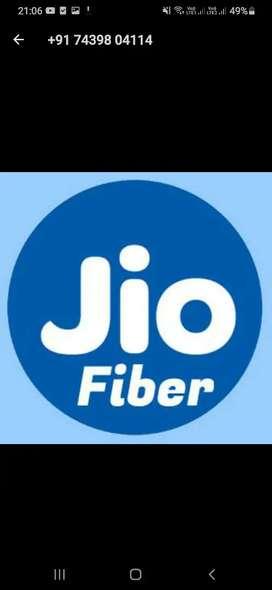 Jio Fiber Broadband service