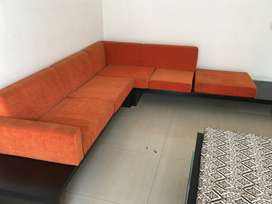 5 seater sofa. Excellent condition, rarely used