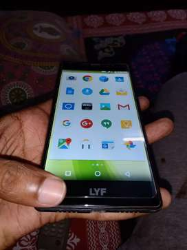1 year old LYF Mobile in best condition with 16 MP back Camera