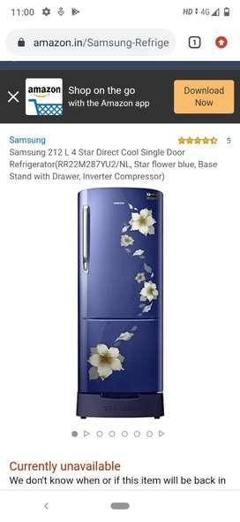 Samsung fridge model no rr 22m287