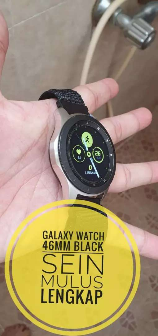 GALAXY WATCH 46MM BLACK 0
