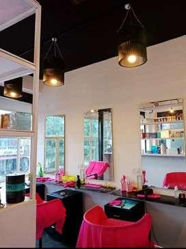 Beauty parlour for sale