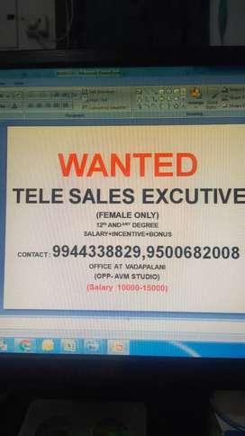 Telecaller for female
