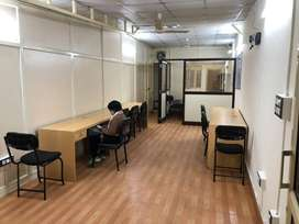 Main EC Road Facing 220 & 500SqFt Office on Rent withAC Fully Furnish