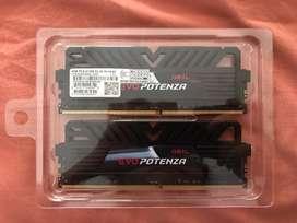 GEIL DDR4 EVO POTENZA 2666MHz Dual Channel 8GB (2x4GB) *BEKAS*