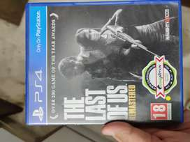 Ps4 Game - Last of Us Remastered