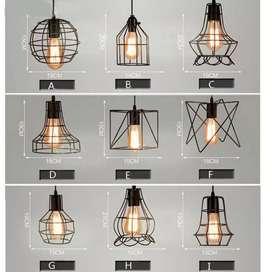 Kap lighting lampu retro lampu gantung lampu industrial lampu vintage