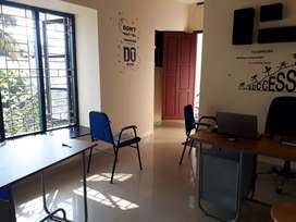 150 Sqft Office Space for Rent near at Boban Residency, Thampanoor