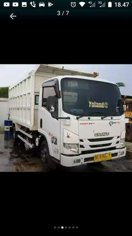 Dumtruk, Dumptruck Isuzu Elf NMR71HD thn 2017 bak index 10-11 kubik