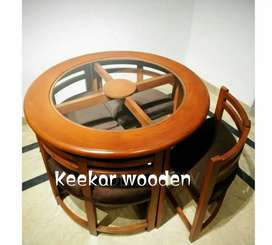 New Stylish Dining Table with 4 chairs