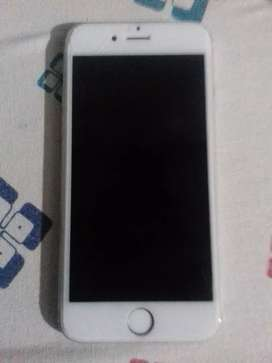 Iphone 6 64gb silver with no scrach